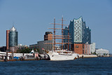 Elbphilarmonie und Hafencity in Hamburg - 103599707