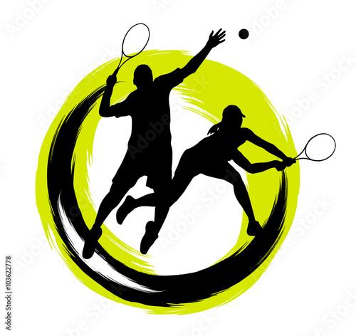 Fototapeta Tennis - 204