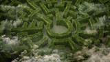 zahradní bludiště