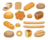 Fototapety Bread, bakery products