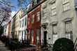 Washington, DC:  Elegant 18-19th century row houses in the Capitol Hill East historic district