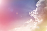 Abstract colourful dreamy sky with romantic soft mood - 103651130
