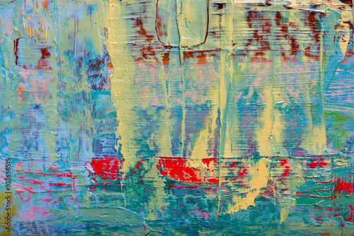 Plakat Abstract art background. Hand-painted background
