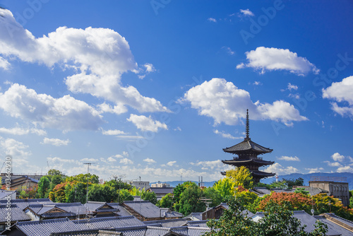 Keuken foto achterwand Kyoto 八坂の塔