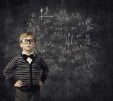 Fototapety Child Learning Mathematics, Children Education, Student Kid