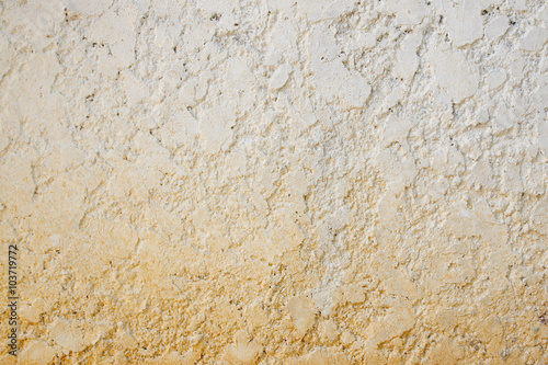 Fototapeta Stucco white wall background or texture