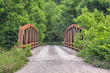 Old Pony Truss Bridge