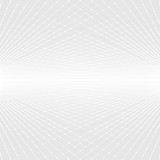 Abstract white and grey perspective futuristic background - 103733510