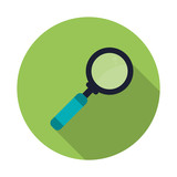 magnifying glass icon design