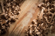 Wood shavings background - 103747197