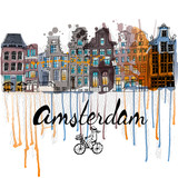 Fototapety Amsterdam