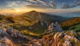 Słowacja góry ze szczytu Chleb