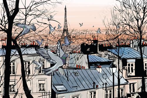 Montmartre in Paris - 103850771
