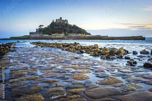 Poster St Michaels Mount Cornwall