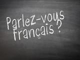 Fototapety Learning language - French