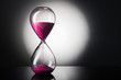 Hourglass clock