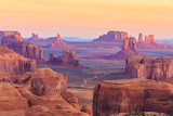 Sunrise in Hunts Mesa in Monument Valley, Arizona, USA - 103967704