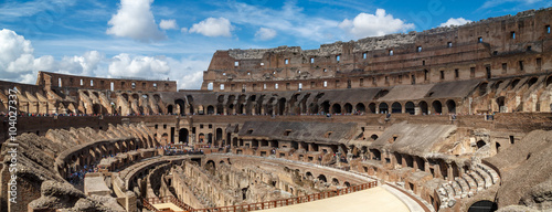 Obraz na Szkle General Inside View of Colosseum