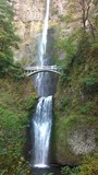 Multnomah Falls Portland vertical view