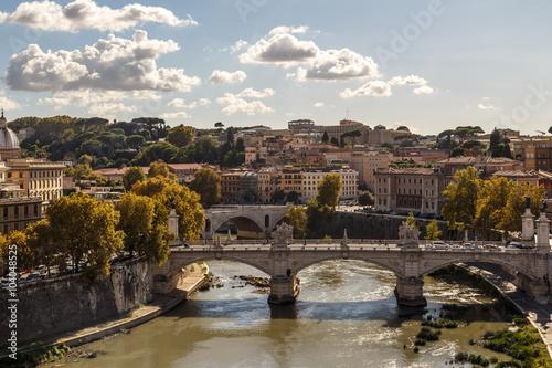 Fototapeta Tiber River View
