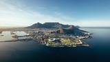 Aerial przybrzeżnych widok Cape Town, Republika Południowej Afryki