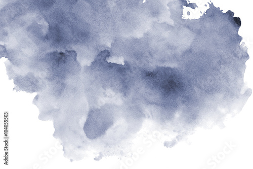 black & white watercolor background - 104055503