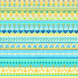 Ethnic tribal Seamless Pattern