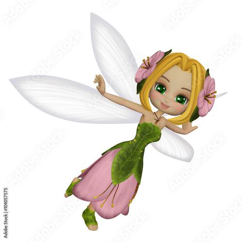 Zdjęcia na płótnie, fototapety, obrazy : Cute little fairy