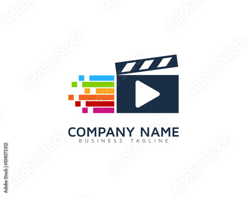 Video Color Motion Logo Design Template Buy Photos Ap Images