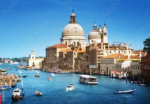 Plagát, Obraz Basilica Santa Maria della Salute, Venice, Italy