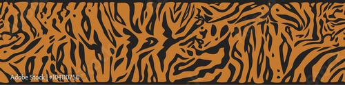 Tło z skórą tygrysa