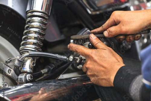 Motorcycle mechanic