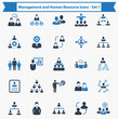 Management and Human Resource Icons - Set 1