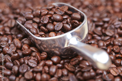Poster coffee beans