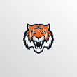 wild tiger logotype theme