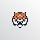wild tiger logotype theme