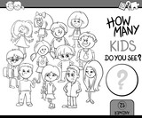 how many kids coloring book