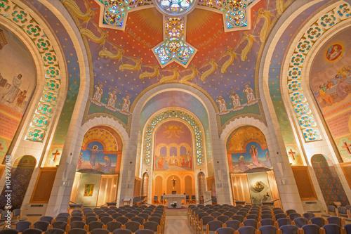 Jerusalem - The Church of St. Peter in Gallicantu.