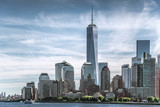 Skyline of lower Manhattan of New York City with World Trade Center © spyarm