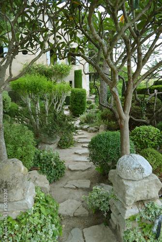 Naklejka Jardin provençal
