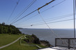 Zip line at Cape Enrage in Canada
