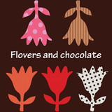 Flowers and chocolate - 104393994