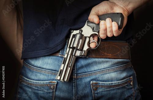 Poster Hidden gun