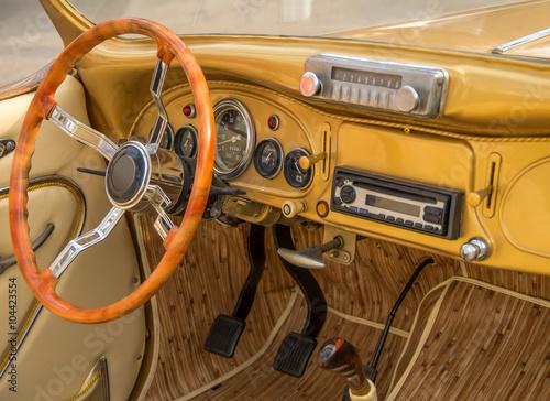 Vehicle luxury interior Poster
