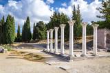 Ruins of Asclepeion on Kos island