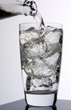 GLASS OF INDIAN TONIC WATER