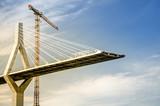 Fototapety Hängebrücke im Bau