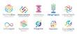 Technology Logo Design Set V.1