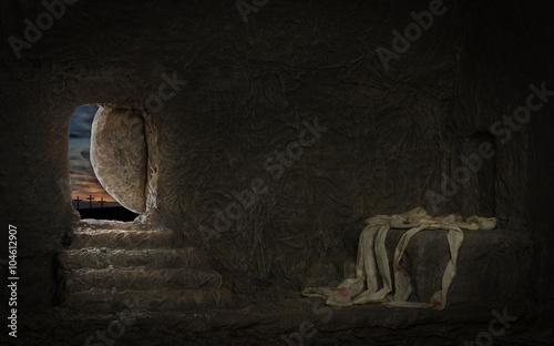 Zdjęcia na płótnie, fototapety, obrazy : Empty Tomb of Jesus