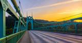 St. John's Bridge in Portland Oregon, USA - 104617135